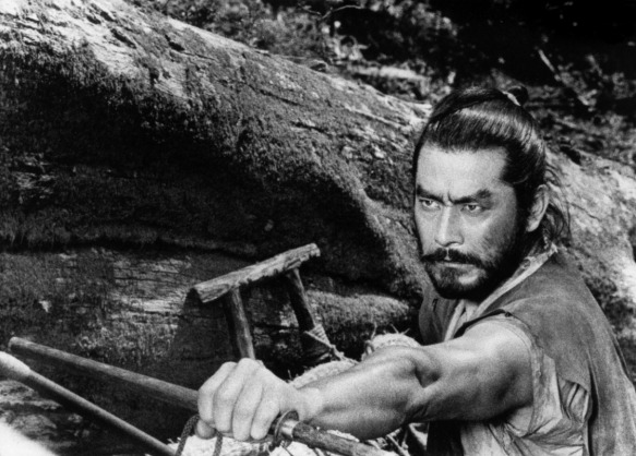 Just looking at a photo of Mifune can put hairs on your chest.